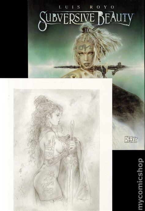 subversive beauty comic books in luis royo art book