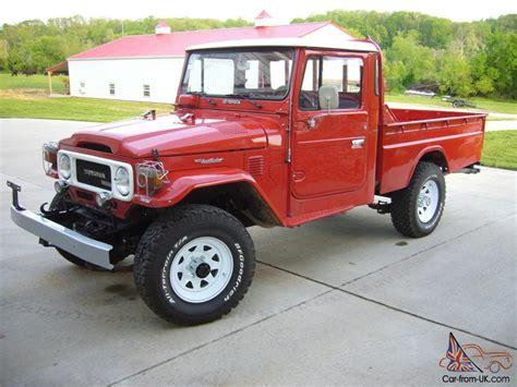 1980 Toyota Diesel 1980 Toyota Land Cruiser Fj45 Diesel
