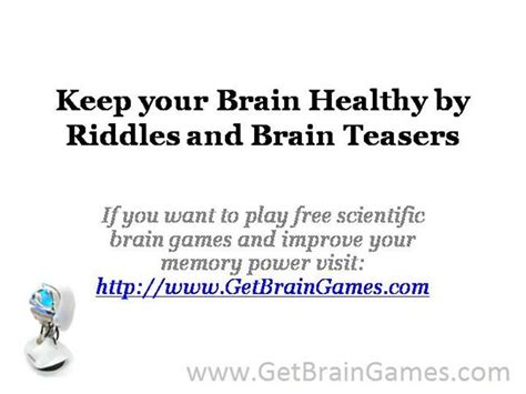 riddles and brain teasers with answers keep your brain healthy by riddles and brain teasers