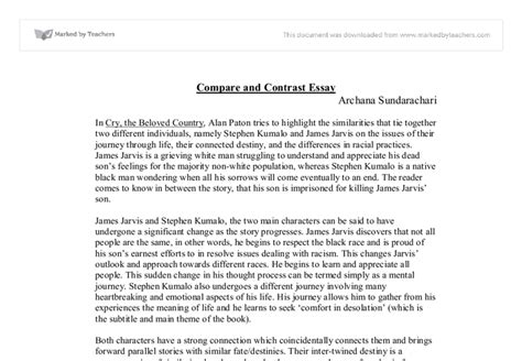 Compare Contrast Essay by Writing A Compare And Contrast Essay For 5th Grade Writing A Compare And Contrast Essay Gr 5