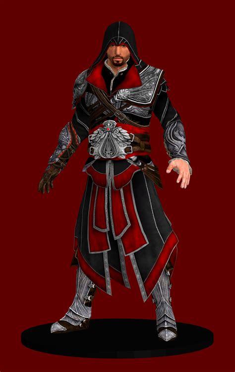 Assasins Creed Ezio Black Suit Premium Hardcase For Samsung S7 Edge assassin s creed brotherhood ezio auditore by