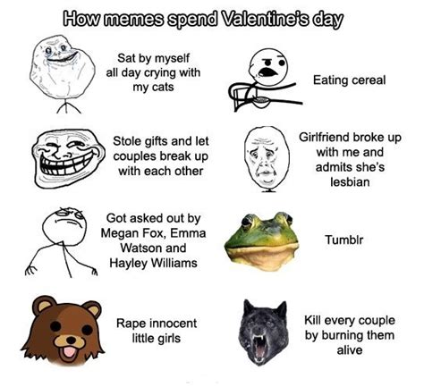 Funny Valentines Day Memes - funny valentines memes memes