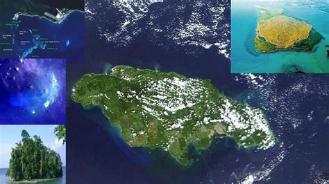 jamaica satellite map the united islands of jamaica the ones you probably never