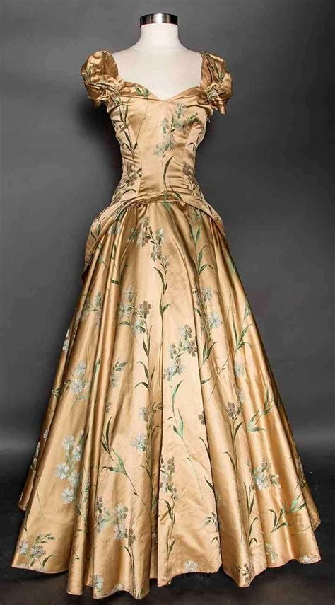 S10 Puff Brocade Dress Dress 17 best images about historical 1940 s 50 s great