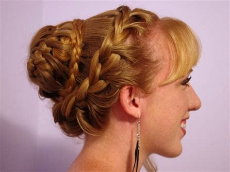 homecoming hairstyles buns bun hairstyles for prom