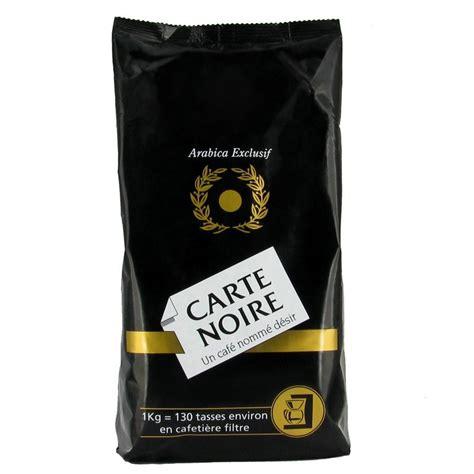 Café Moulu Carte Noire Pur Arabica   1 Kg   Carte Noire