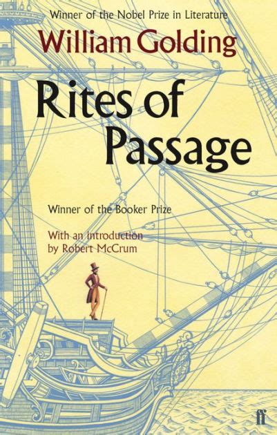 The Rites Of Passage rites of passage by william golding paperback barnes