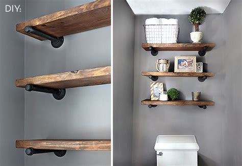 Make Your Own Shelf Brackets by How To Make Your Own Restoration Hardware Inspired Pipe