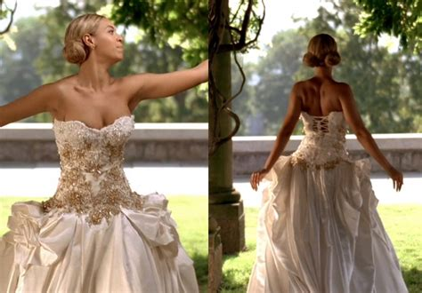 beyonce video wedding dress beyonce in bridal lingerie for latest music video