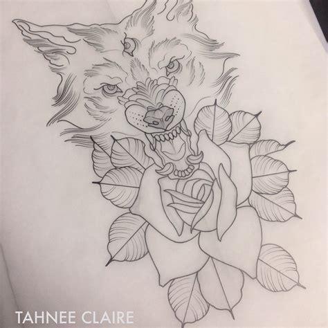 tattoo flash wolf neo traditional wolf tattoos pinterest best neo