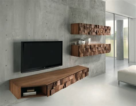 French Living Room Furniture by 21 Floating Media Center Designs For Clutter Free Living Room