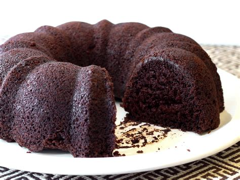 simplify dessert with this easy gluten free chocolate bundt cake serious eats