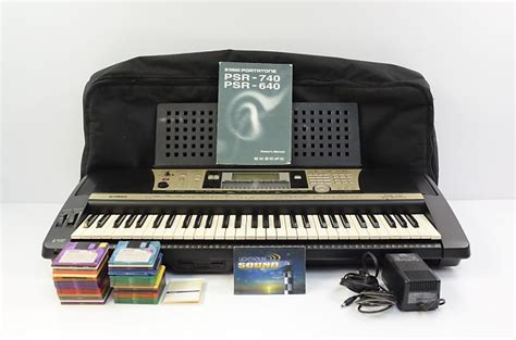yamaha psr 740 yamaha psr 740 arranger workstation keyboard w gig bag