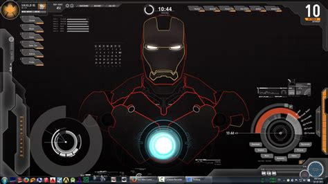 themes for windows 7 ultimate iron man jarvis ironman live wallpaper 007 youtube