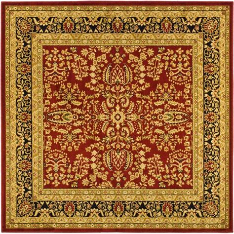 rugs 8 ft safavieh leather shag black 8 ft x 8 ft square area rug lsg511a 8sq the home depot