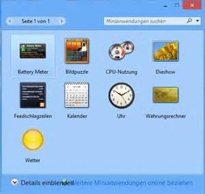 windows 8 desktop gadgets nachr 252 sten freeware de