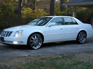 Cadillac On 22 22 Wheels For Cadillac Dts