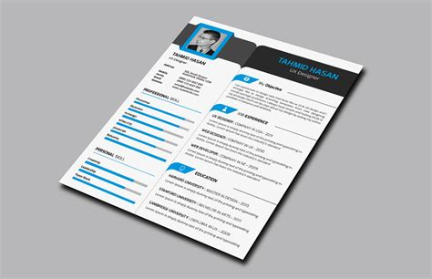 corporate resume with business card resume templates on creative market