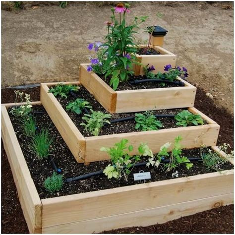 raised garden bed decor decosee com unique and cool raised garden bed ideas