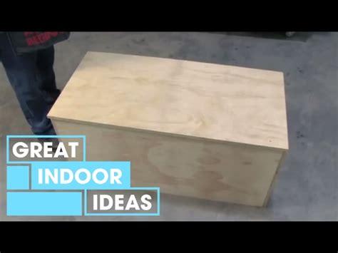 homes  gardens   build  storage chest