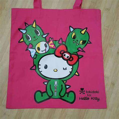 Hello Kaktus Totebag hello tokidoki x hello reusable tote bag