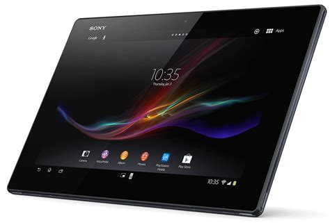 sony xperia tablet z wi fi tablet specifications