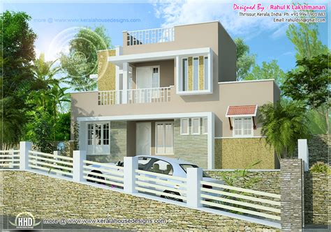 1300 sq hillside home design house design plans