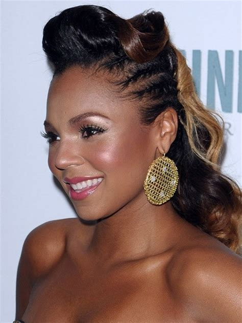 african american updo braided styles for my hair that is short on one side and long on the other updo hairstyles for black women