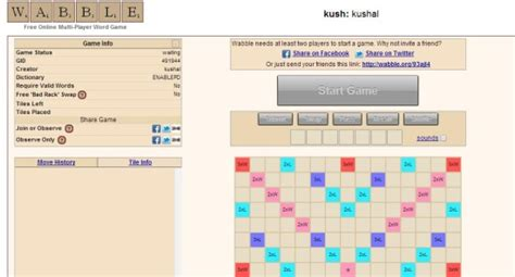 wabble scrabble 5 websites to play scrabble with friends