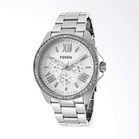 Jam Tangan Analog Wanita Fossil jual fossil am4481 jam tangan wanita silver