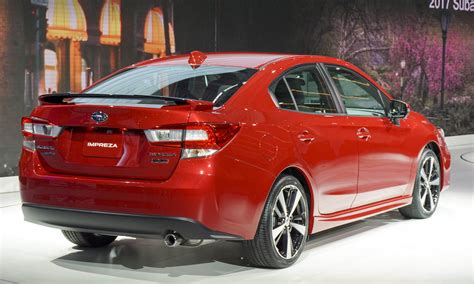 2017 subaru impreza sedan new fresh look at 2017 subaru impreza sedan redesign