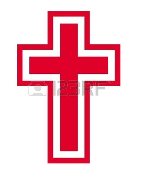 black and red christian cross red christian cross png clipart panda free clipart