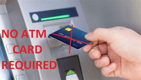 how to make a withdrawal without a debit card how to withdraw money from atm without using atm card