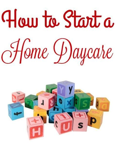 Running A Small Home Daycare 25 Best In Home Daycare Ideas On