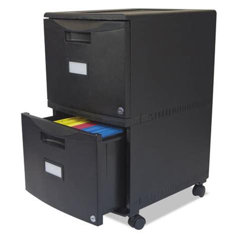 Storex File Drawer by Storex 61309b01c Two Drawer Mobile Filing Cabinet