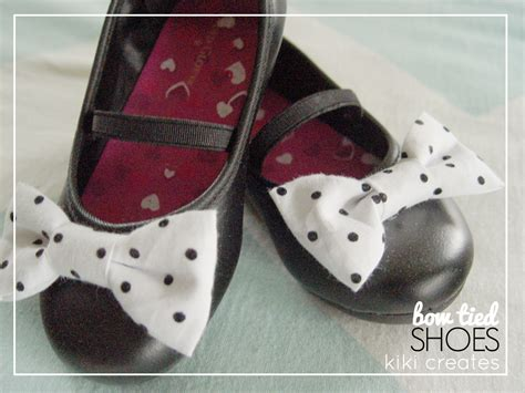 Handmade Shoes Tutorial - creates bow shoes tutorial