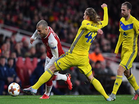 arsenal bate arsenal vs bate borisov europa league match report