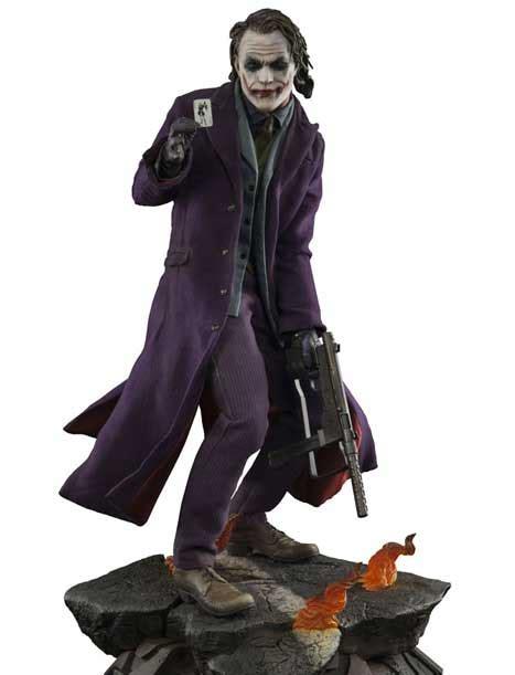 Kaos Why So Serious Joker the joker premium format staty sideshow