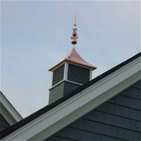 Cupola Toppers Install Cupolas To Create Curb Appeal
