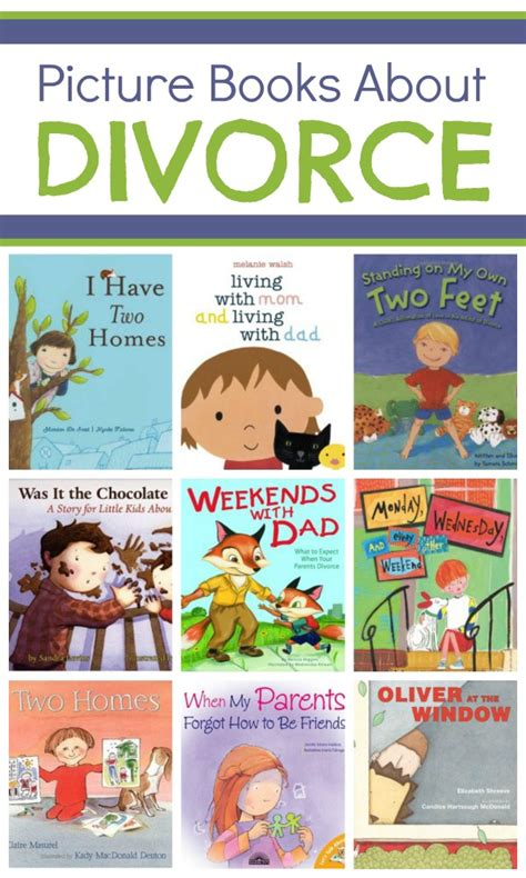 picture books about divorce fantastic learning