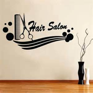 salon wall murals wall vinyl sticker decal decor haircut salon scissors hair
