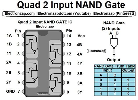 the 25 best nand gate ideas on electronic