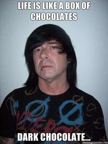 Dark Chocolate Meme - image 97010 emo dad know your meme