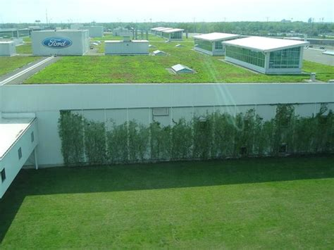living roof michigan ford plant living roof picture of ford