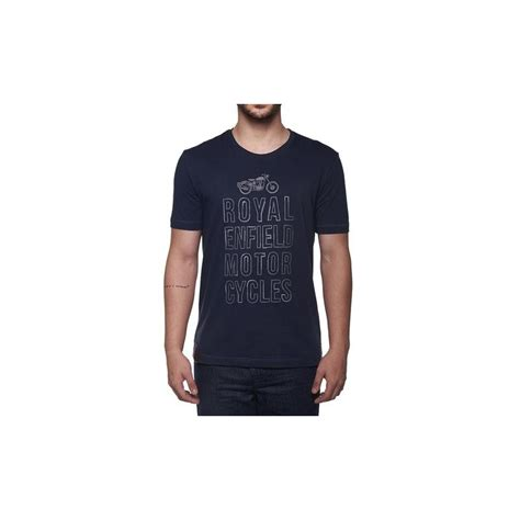 typography t shirts uk royal enfield typography t shirt navy