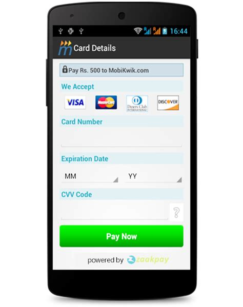 Online payment solutions   zaakpay pay by mobile phones