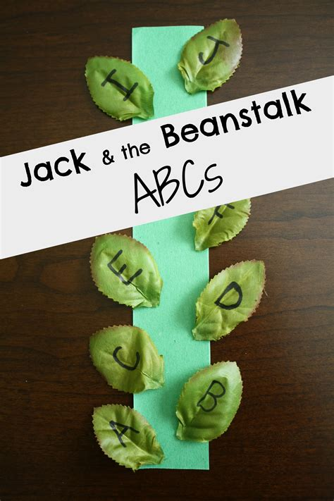 and the beanstalk reading activities
