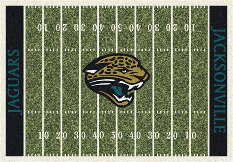 fields jaguar jacksonville jaguars nfl home field area rug