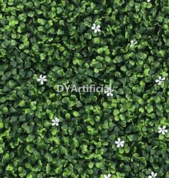 Lighted Topiary - cream color boxwood panel with white flowers dongyi