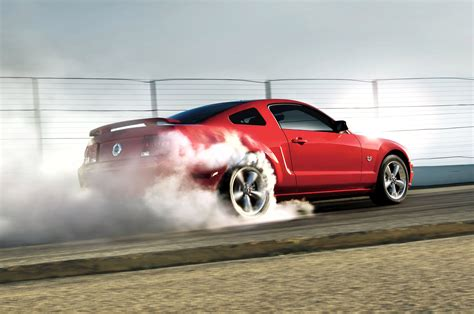 Car Wallpapers Cars Burnout by Mustangs And Burnouts Car Dunia Car News